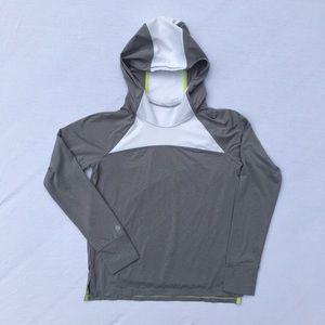 Athleta girls' lightweight hoodie, size XL 14